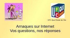 Arnaques sur internet, questions-réponses