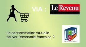 La consommation va-t-elle sauver l'économie française ?