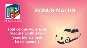 Bonus-Malus assurance auto