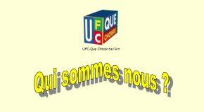 UFC-Que Choisir de l'Ain : qui sommes nous ?