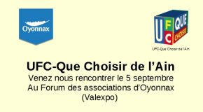 Forum des associations, Oyonnax, 5 septembre