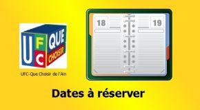 Dates à réserver