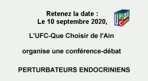 Conférence-débat Les perturbateurs endocriniens