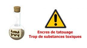 Encres de tatouage – Trop de substances toxiques