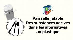 Vaisselle jetable : des substances nocives dans les alternatives au plastique