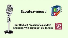 Emission «Vie pratique» du 11 juin sur Radio B